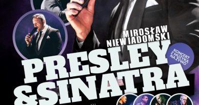 Koncert Elvis Sinatra Swarzędz