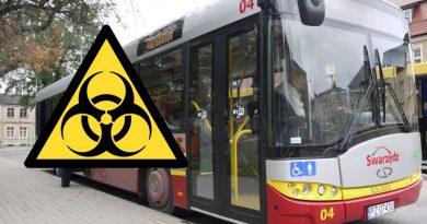 koronawirus Swarzędz autobusy komunikacja