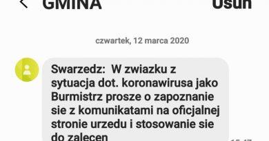 koronawirus swarzędz zarządzanie kryzysowe burmistrz
