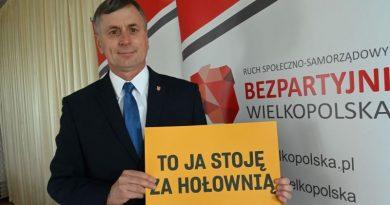burmistrz szkudlarek popiera Hołownię