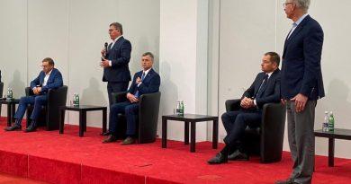 burmistrz szkudlarek popierają Trzaskowskiego
