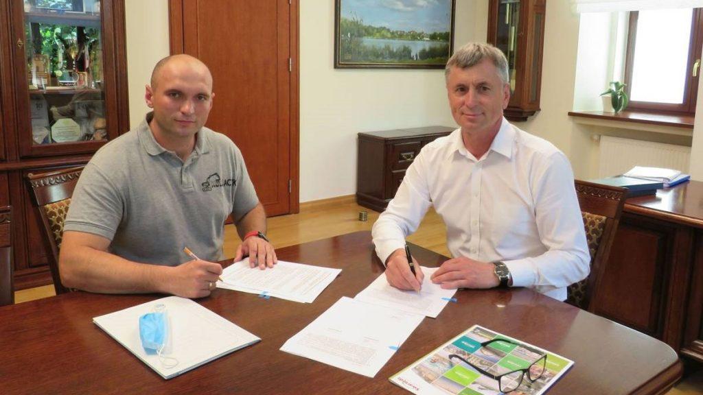 Remont Wrzesińskiej burmistrz podpisał