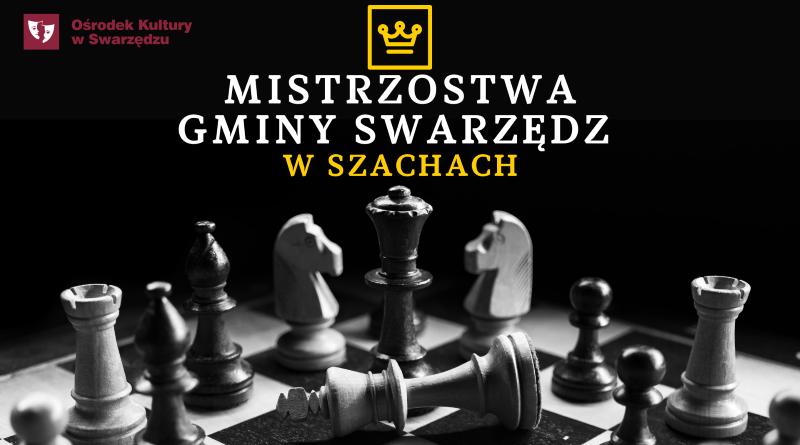 Mistrzostwa Gminy Swarzędz w Szachach