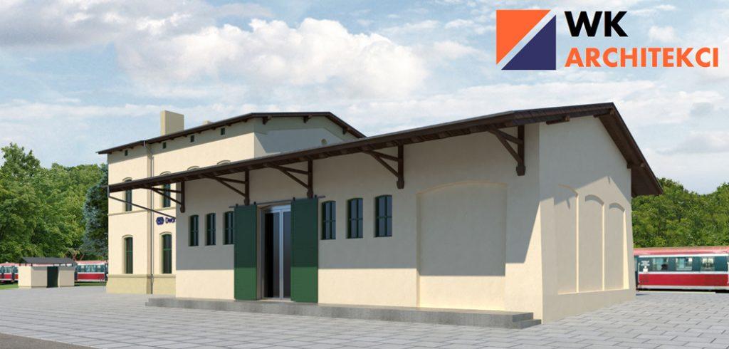 nowy dworzec PKP w Kobylnicy