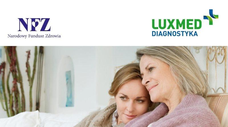 bezpłatne badania LUX MED