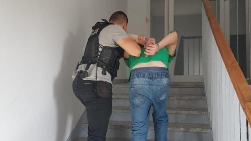 Swarzędz podpalacz areszcie 100 tysięcy
