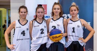 Liderki czwarte w Polsce w koszykówce