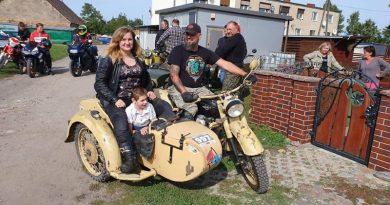 150 motocykli Swarzędz też pomógł