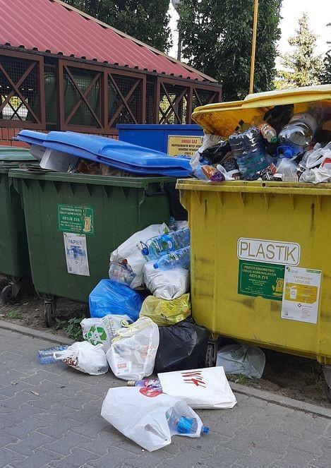 dalsze kłopoty z odbiorem odpadów