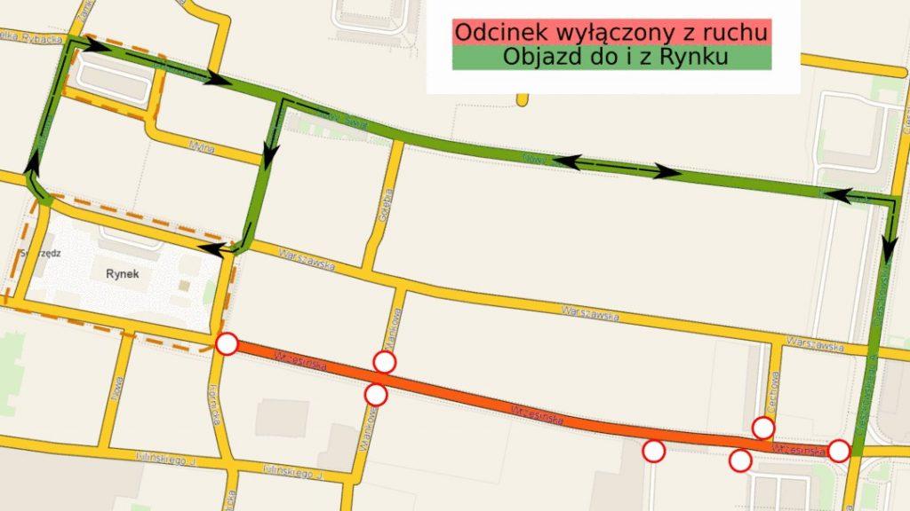 Ulica Wrzesińska będzie zamknięta