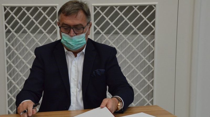 starosta grabkowski COVID w ciężkim stanie
