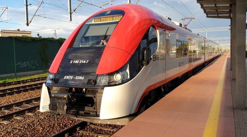 Korekta rozkładu jazdy pociągów