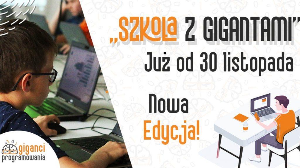 Rusza Szkoła z Gigantami programowanie