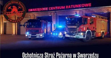 Strażacy organizują zbiórkę dla pracowników
