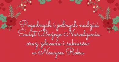 Wszystkiego najlepszego z okazji Świąt Bożego