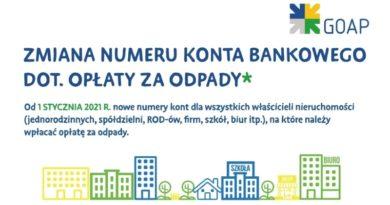 Zmiana indywidualnych numerów bankowych