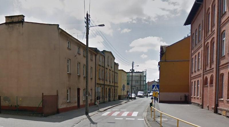 Ulica Zamkowa w Swarzędzu zamknięta