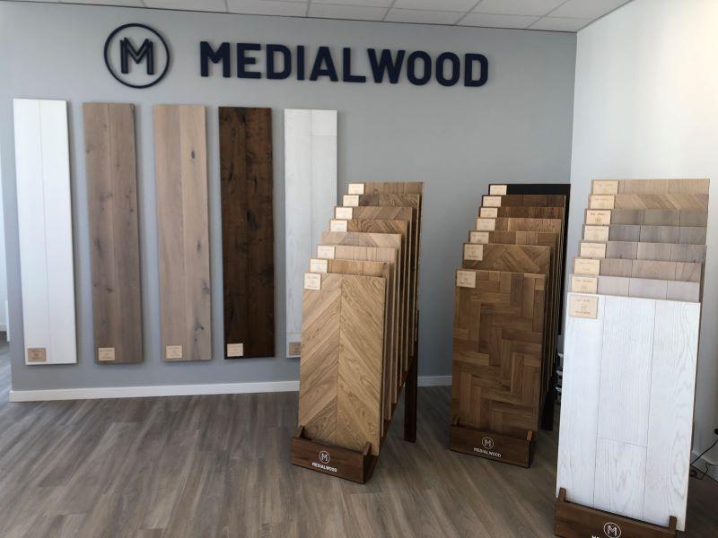 salon sprzedaży podłóg MEDIALWOOD