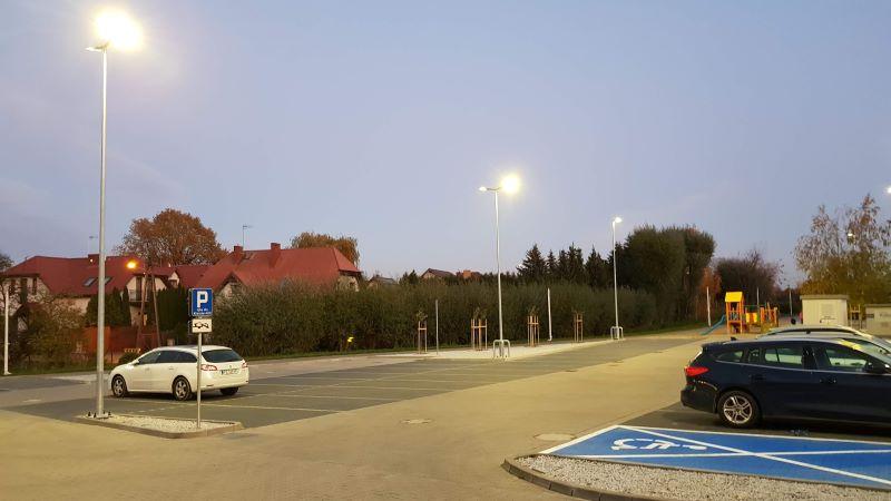Parking ALDI dostępny bezpłatnie