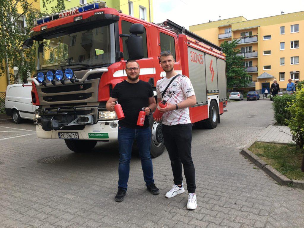 Pożar w restauracji Kresowa