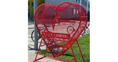 Serce Zalasewa przy Szkole Podstawowej