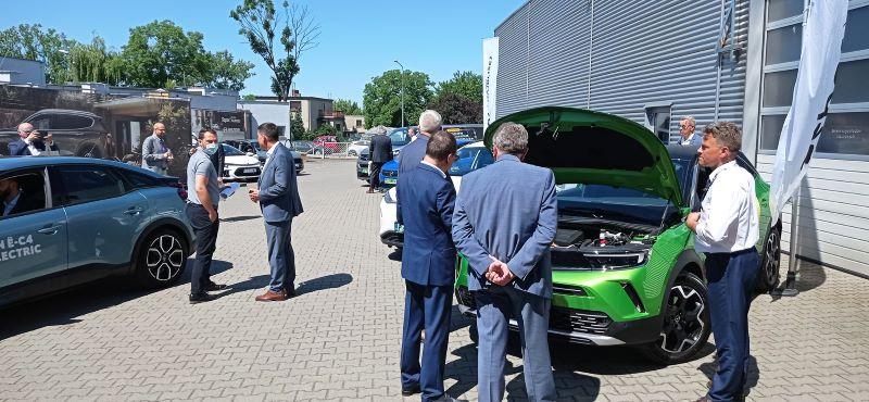 Elektromobilność - w salonie Hyundai Szpot