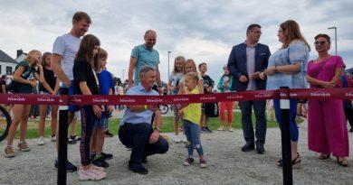 Active Park w Zalasewie już otwarty, 22 sierpnia burmistrz przeciął wstęgę