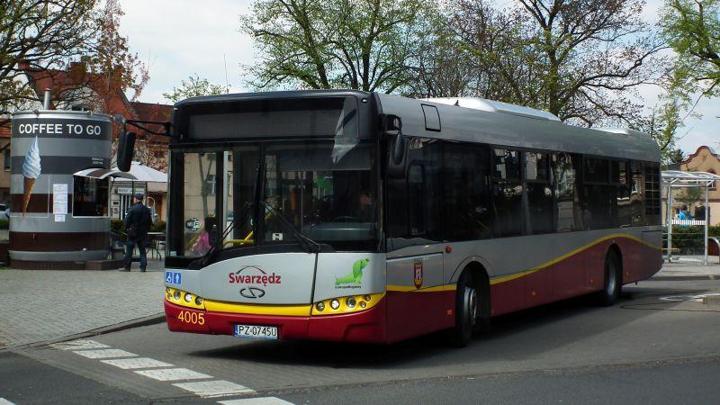 Rozkład jazdy autobusów w Swarzędzu