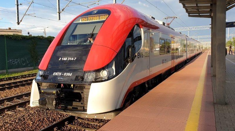 Zmieniony rozkład jazdy pociągów