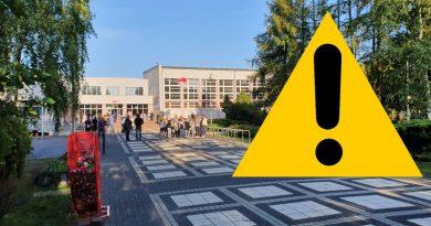 Alarm bombowy w Szkole Podstawowej