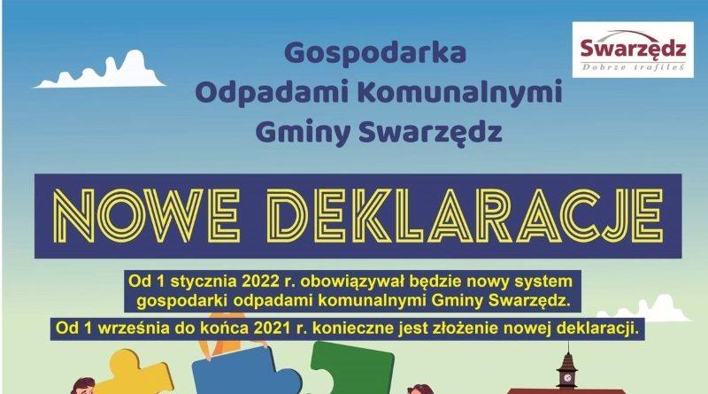 Nowe deklaracje za odpady komunalne